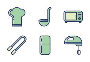 Kitchen Tools Filled