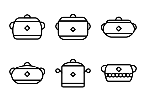 Kitchen Tools - Outline