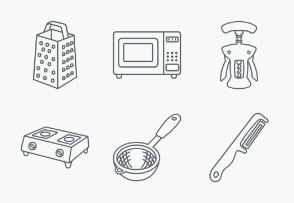 Kitchenware outlines
