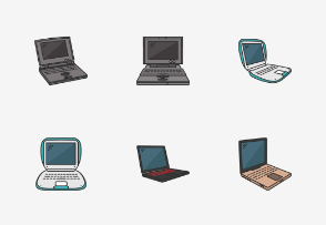 Laptops - Colored