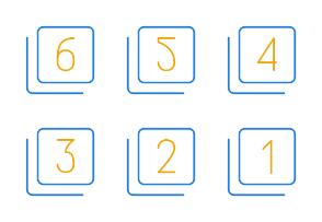 Tiny Line (like Google's Material Design concepts)
