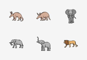 Mammals - Colored