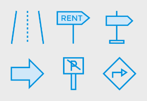 Map and Navigation Cute Style vol 4