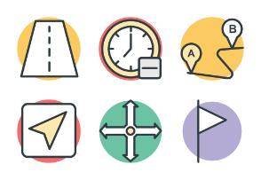 Maps and Navigation Cool Vector 1