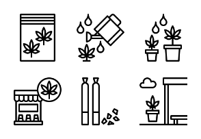 Marijuana Outline