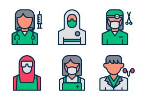 Medical Worker Avatar