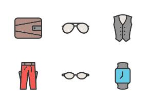 Men's Accessories Filled Line