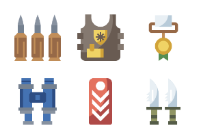 Military Element Flaticons