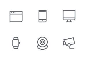 Mini icon set - Web / Design / Device