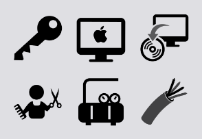 Mobile Development SVG Icons
