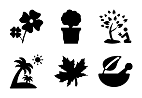 Nature Solid Icons Vol 4