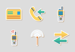Network and Comminications Sticker vol 1