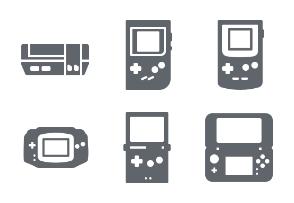 Nintendo Console Glyph Set
