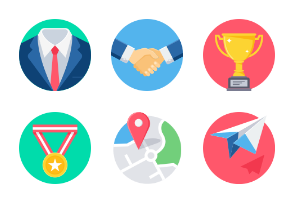 Office and Business Conceptual Flat