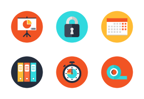 Office elements icons