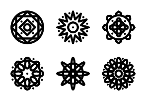 Ornament : Mandala no. 121218