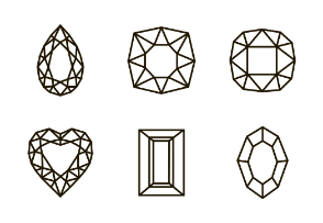 Outline gems
