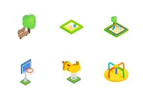 Playground - isometric