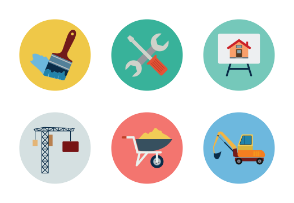 Real Estate Flat Icons Vol 2