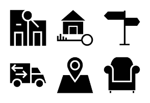 Real Estate Icons Vol 1