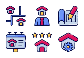 Realestate vol1 - filled outline - bukeicon