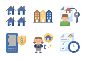 Rental Property Flaticons