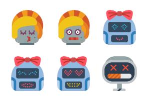 Robot Avatars - Flat