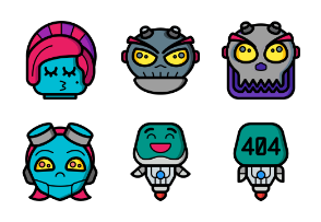 Robot Avatars - Ultra Color
