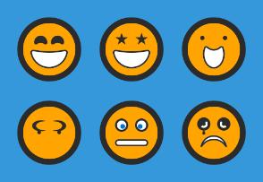 Roundettes Emoji Companions
