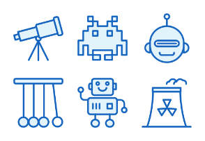 Science - Monochrome Icons