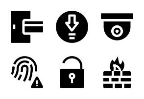 Security Basic 1 Black Fill