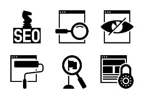 SEO and Web Glyph 6