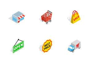 Shopping - Isometric