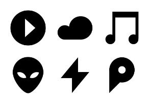 Simple glyph vol2