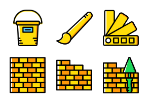 Smashicons Construction - Yellow - Vol 2