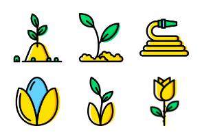 Smashicons Garden - Yellow