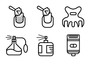 Smashicons Grooming - Outline - Vol 2