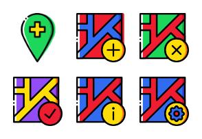 Smashicons Pins & Locations - Cartoony - Vol 2