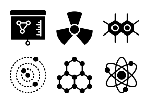 Smashicons Science - Solid - Vol 1