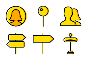 Smashicons The Essentials - Yellow - Vol 6