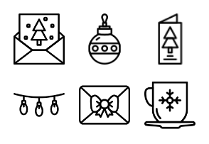 Smashicons Winter - Outline - Vol 1