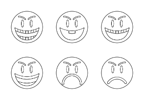 Angry Smiley Faces