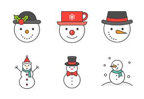 Snowman (filled)