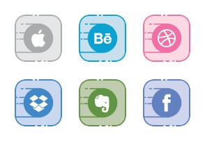 Social Line Filled