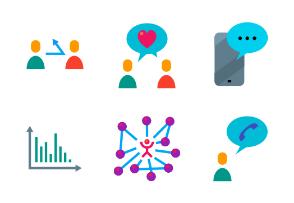 Social media essentials Colored
