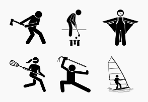 Sport and Games with Alphabet W (Part 2 of 2)