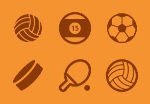 Sport, balls and fun