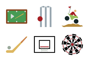 Sports Colored Icons Vol 1