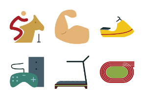 Sports Colored Icons Vol 3