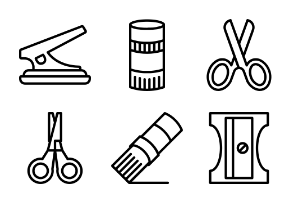 Stationary Outline Collection